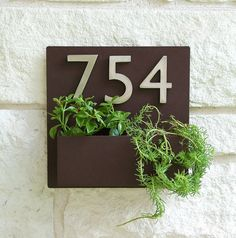Hey, I found this really awesome Etsy listing at https://www.etsy.com/listing/195978857/12-x-12-contemporary-brown-address