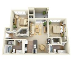 Apartments for Rent in Lakewood CO | Whisper Creek Floor Plans