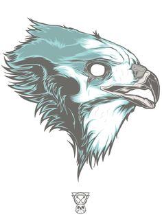 Birds of Prey - Hawk Designed by Hydro74