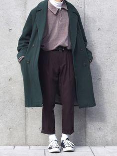 Creating the Men Minimalist Fashion Wardrobe Aesthetic Fashion, Look Fashion, Aesthetic Clothes, Mode Outfits, Casual Outfits, Fashion Outfits, Korean Fashion Men, Mens Fashion, Woman Fashion