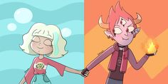 Sea and Fire 🌊🔥 Starco, Jackie Lynn Thomas, Cute Night Lights, Most Popular Cartoons, Funny Parrots, Cute Girl Drawing, Disney Xd, Star Butterfly, Star Wars