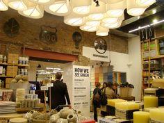 Green Small Retail Store Design Ideas