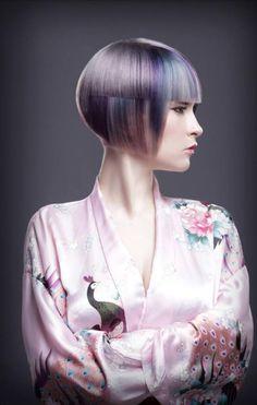 Wella Professionals Trend Vision 2013 Canadian Finalists Announced Texture Hair Salon, Medium Hair Styles, Short Hair Styles, Creative Haircuts, Competition Hair, Runway Hair, Corte Y Color, Hair Color For Women, Coloured Hair