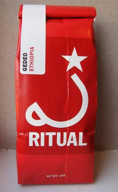 Ritual coffee bag.#coffee #bags for more information visit us at  www.coffeebags.co.za