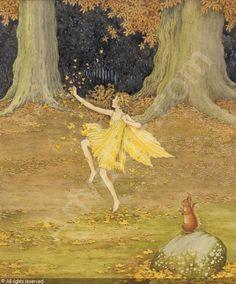 Ida Rentoul Outhwaite: Autumn