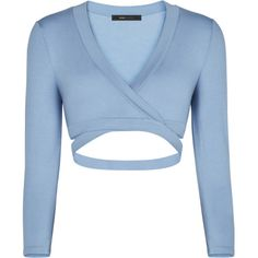 BCBGMAXAZRIA Lorren Cutout Crop Top ($19) ❤ liked on Polyvore featuring tops, crop top, shirts, blusas, sports, cut out top, pullover shirt, blue crop top, cut out crop top and sport jerseys