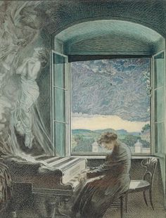 Portrait of Ludwig van Beethoven (Bonn, 1770 - Vienna, Music France, Romantic Composers, Paw Print Art, Piano Art, Music Album Covers, Music Artwork, Music Aesthetic, Music Composers, Music Pictures