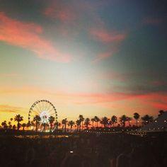 go to Coachella music festival! Coachella California, California Dreamin', Coachella 2014, Coachella Festival, Places To See, Beautiful Places, Beautiful Sunset, Scenery, Around The Worlds