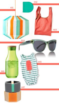 I love this grouping. It screams summer, and boy do I love summer.
