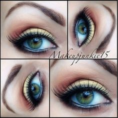 #themakeupstory-  PC to  @makeupjunkie15#makeup - @themakeupstory- #webstagram: