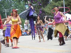 Parade the Circle is like nothing else in Cleveland. It's one of the most artistic, dramatic, fun and wildly creative things you'll see anywhere. And it's this Sat., June 9. #PTC2012