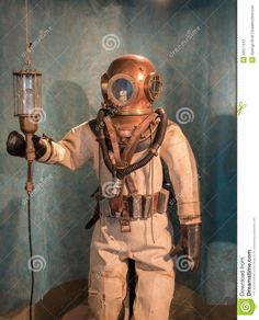 vintage diving suit - Google Search