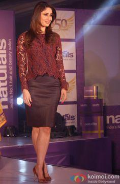 Kareena Kapoor attends Naturals Salon event
