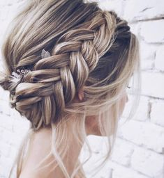 28 Braided Wedding Hairstyles For Brides with Long Hair . - 28 Braided Wedding Hairstyles For Brides with Long Hair - Wedding Hairstyles For Long Hair, Box Braids Hairstyles, Braids For Long Hair, Bride Hairstyles, Hairdos, Hairstyle Ideas, Hair Ideas, Pretty Hairstyles, Loose Braids