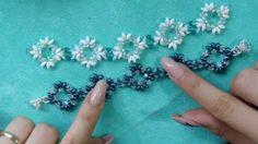 DIY tutorial bracciale o collana superduo gioielli fai da te sub english...