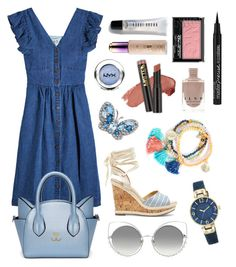 """Random Set #2"" by clairelu77 ❤ liked on Polyvore featuring Sea, New York, Marc Jacobs, Anne Klein, Sole Society, Bobbi Brown Cosmetics, tarte and NYX"