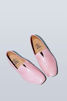 King Tartufoli Nappato Slipper in Pink