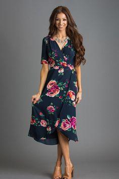 Floral Dresses, Floral Print Dresses – Morning Lavender