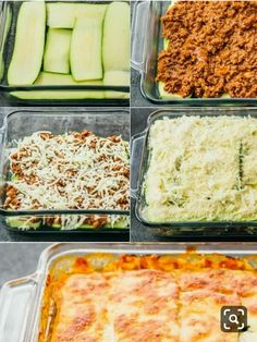 This easy zucchini lasagna is a great low carb and healthy alternative to your t. - This easy zucchini lasagna is a great low carb and healthy alternative to your t. This easy zucchini lasagna is a great low carb and healthy alterna. Comida Keto, Think Food, Diet Meal Plans, Meal Planning, Recipe Zucchini, Healthy Zucchini Recipes, Healthy Zucchini Lasagna, Healthy Lasagna Recipes, Chicken Recipes