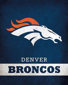 NFL - Denver Broncos Logo $24.99 Parade your devotion for the Denver Broncos with this 16x20 Printed Canvas Logo from ScoreArt. This incredible print is quintessential for the fanatic in your life.  #Denver #Broncos #DenverBroncos #NFL #Football #Sports #ScoreArt Denver Broncos Football, Go Broncos, Football Art, Nfl Logo, Team Logo, The Incredibles, Canvas Prints, Brand Design, Logos