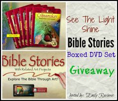 5 DVD Bible Story Set {From See The Light} giveaway ends 9/12/2016