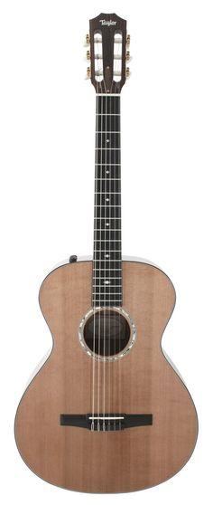 Taylor 512E-N Grand Concert Nylon Acoustic Electric | Rainbow Guitars
