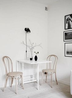 Use The Wall | Small Dining Room Ideas: 17 Clever Ways To Use Space |  Kitchen And Dining Room Ideas U0026 Inspirations | Pinterest | Small Dining  Rooms, ...