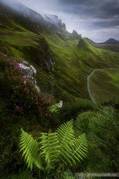 Trotternish landscape view, Isle of Skye, Scotland