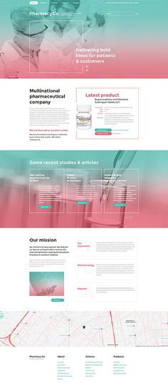 Medical website inspirations at your coffee break? Browse for more Bootstrap #templates! // Regular price: $75 // Sources available: .HTML,  .PSD #Medical #Bootstrap