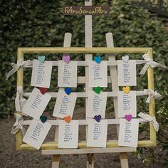 #tableu #mariage #matrimonio #cuori #fimo - #wedding #hearts #polymerclay #FeltroSenzaFiltro #fattoamano #handmade