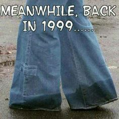 Jncos! I never had a pair. And I'm so thankful now that I didn't. Lol