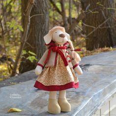Купить Осенняя собачка в интернет магазине на Ярмарке Мастеров
