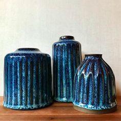 Blue, Huskmilk Pottery
