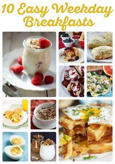 10 Easy Weekday Breakfasts | Our Best Bites | Bloglovin'