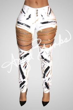 Fly Mid cut Jeans -Limited Time only Diy Ripped Jeans, Ripped Jeggings, Sexy Jeans, Jeans Pants, Lace Jeans, Classy Outfits, Sexy Outfits, Trendy Outfits, Cute Outfits