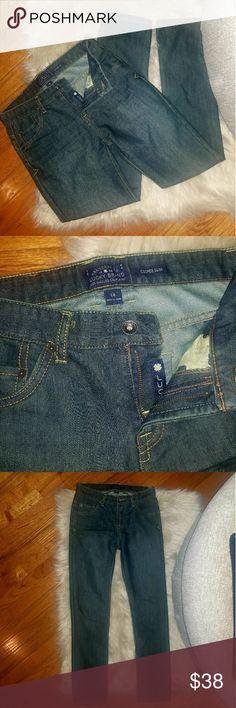0ec1d6f5cd3 Lucky brand boys size 12 blue jeans. Lucky brand boys size 12 straight leg  jeans