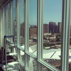 3M Prestige 70 window film applied to condominium windows. The Cadillac of window films!