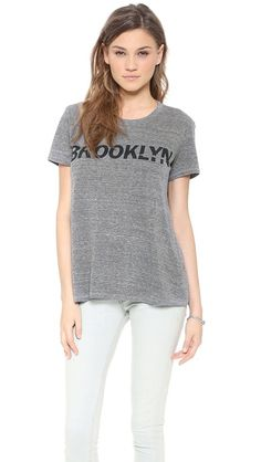 TEXTILE Elizabeth and James Brooklyn Bowery Tee $92.00