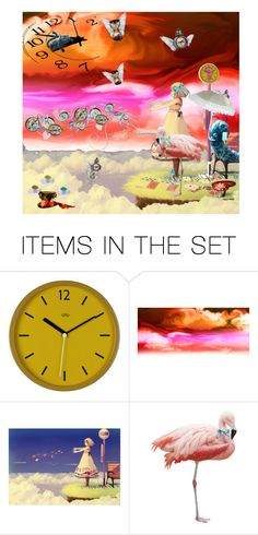 """""""The Looking Glass"""" by alynncameron ❤ liked on Polyvore featuring art"""