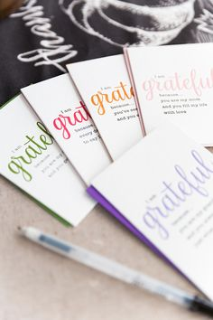 Handwritten Grateful Cards by Papyrus | Modish and Main