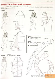 sleeve patterns