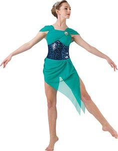 Costume Gallery | Dancing Water - Lyrical Ballet Lyrical Costume