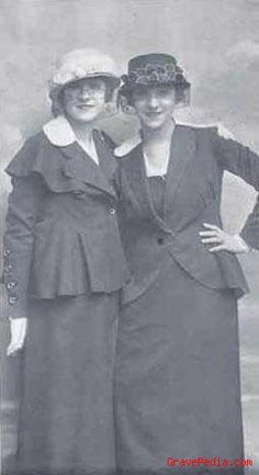 She was one of the performing 'Dolly Sisters. Edwardian Fashion, Vintage Fashion, Women's Fashion, Dolly Sisters, Sister Act, Selfridges & Co, Partners In Crime, Hello Dolly, Vintage Girls