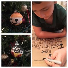The Party Event. Harry Potter inspired Christmas- Kids edition. Making ornaments and wrapping paper. 4 days to Christmas! Harry Potter, Hogwarts, Christmas, Potter Christmas, Potterhead, Ron Weasley, Gryffindor, I solemnly swear that I am up to no good, Marauders map. More at:https://www.etsy.com/shop/thepartyevent?ref=search_shop_redirect