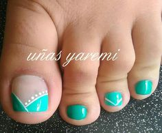 Pedicure Nail Art, Toe Nail Art, Easy Nail Art, Cute Toe Nails, Love Nails, Diy Nail Designs, Nail Polish Designs, Pretty Toes, Pretty Nails