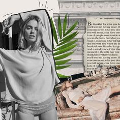 Lazy Sundays... ft. MUSE ~ @MargotRobbie 🌿⠀ ⠀ #margotrobbie #stylecollages #digitalcollage #collage #muse #girlcrush #paris