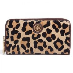 Tory Burch Leopard print purse
