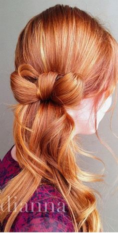 #Bow #Hair #Style #Hairdo