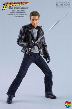 Figura Mutt Williams, 30 cms. Indiana Jones La Calavera de cristal