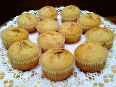 Muffin Recipes, Baby Food Recipes, Sweet Recipes, Cake Cookies, Cupcakes, Biscuits, Goodies, Food And Drink, Sweets